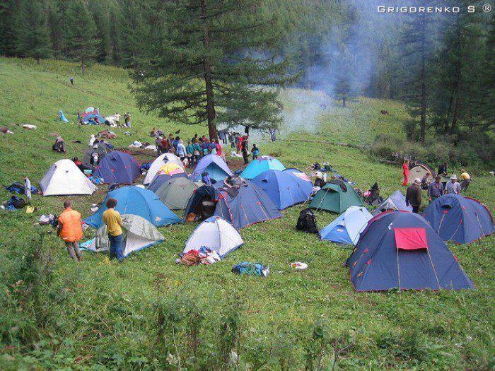 Лагерь своими руками