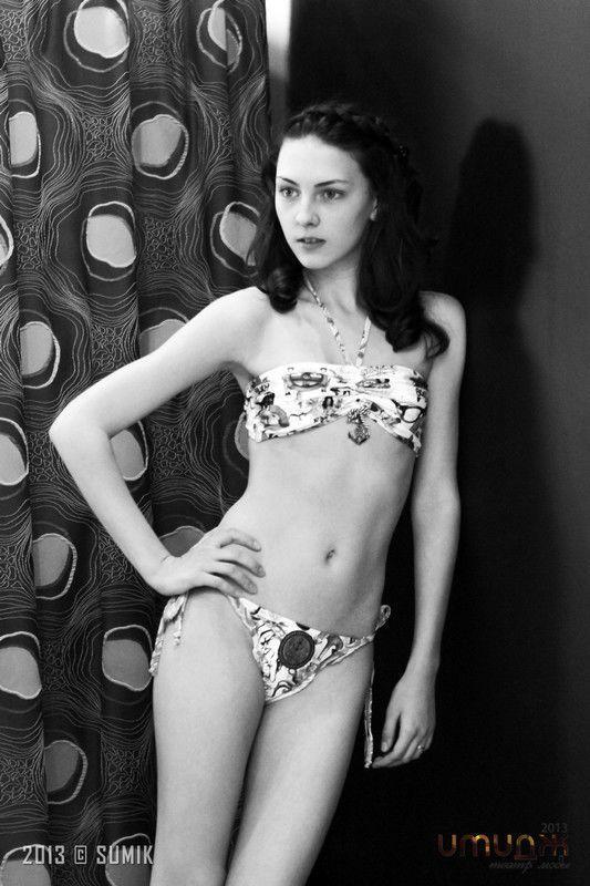 10b9cdc0997d0 Фотосессия участниц «Имидж 2013» - примерка купальников модного бренда Agua  Bendita