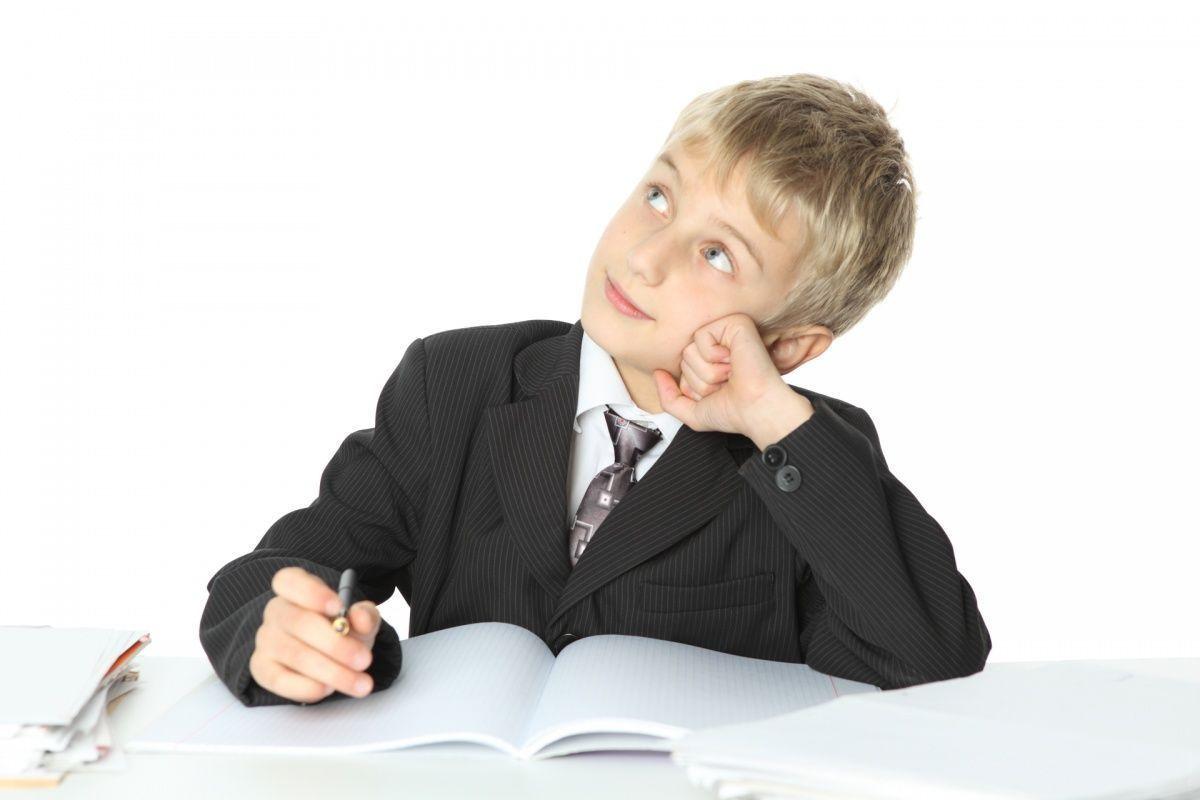 Думающий школьник картинки