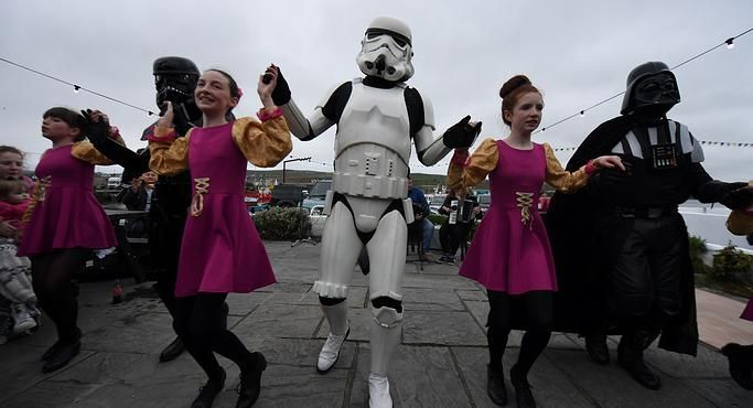 Фестиваль «Звездных войн» впервый раз прошел вИрландии вместах съемок киносаги