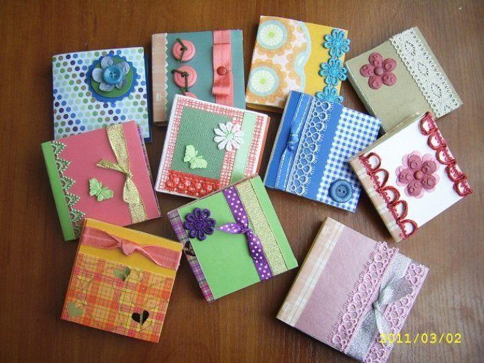 Блокноты открытки мастер класс